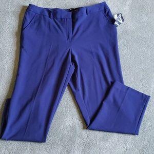 NWT George Sz 14 navy blue cropped pants